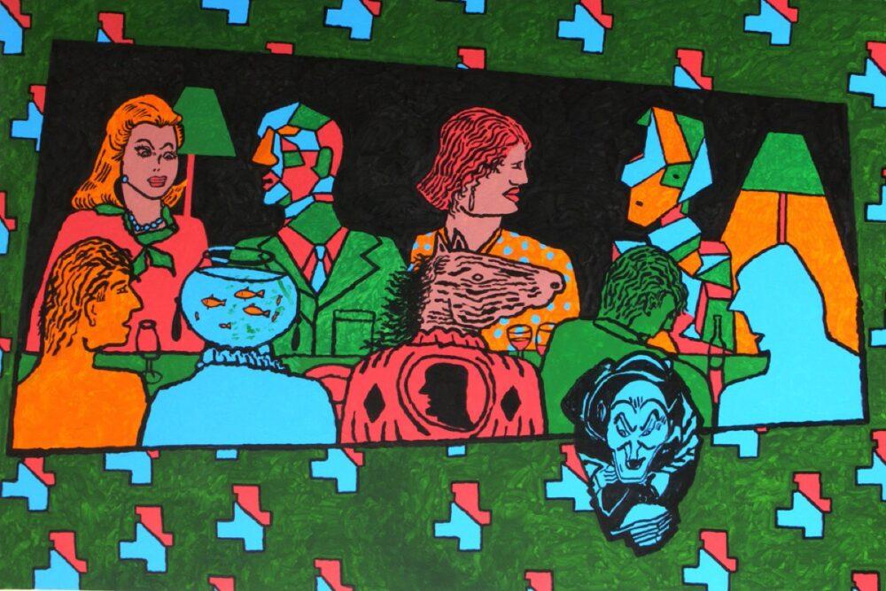 Derek Boshier - New Paintings / Chemical Culture Series