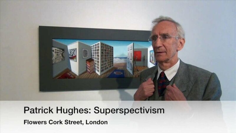 Patrick Hughes: Superspectivism via Studio International