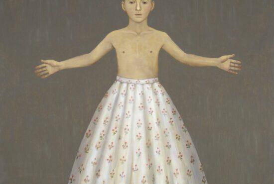 John Kirby painting on display at Walker Art Gallery