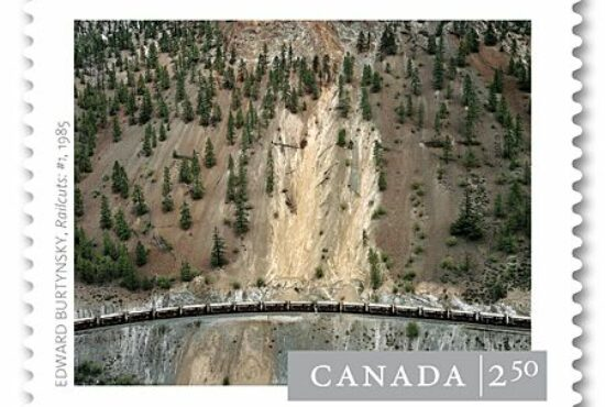 Burtynsky photograph to appear on Canadian international stamp