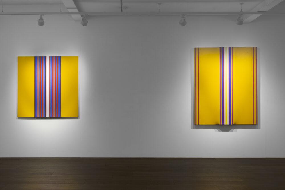 Derek Hirst: Spotlight on view at Flowers Gallery Kingsland Road
