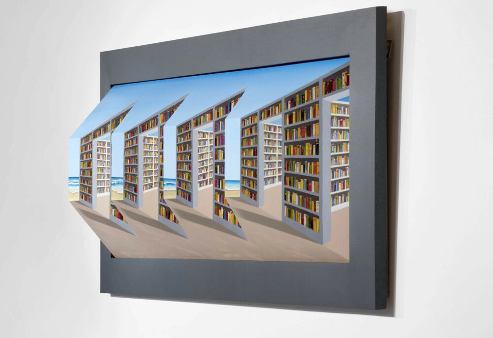Opening Reception: Patrick Hughes - Perspective in Perspective