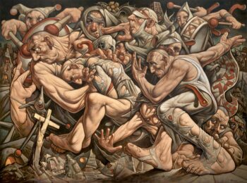 Peter Howson in ARTFORUM