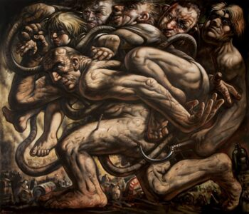 Peter Howson Interviewed for Studio International