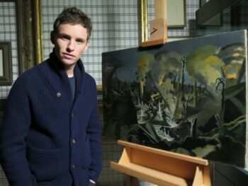 ​War Art with Eddie Redmayne