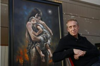 Peter Howson discusses comeback after fighting depression - The Herald Scotland