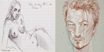 Peter Howson auction featured on Artlyst