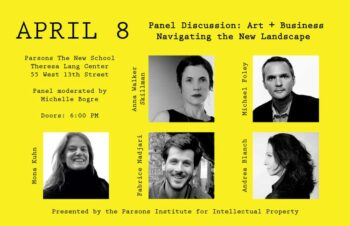 Panel Discussion - Art + Business: Navigating the New Landscape