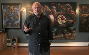 Peter Howson to feature on HiBROW Hour