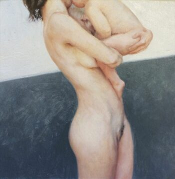 Aleah Chapin painting included in 'Take Home a Nude' auction